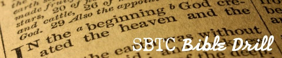 SBTC Bible Drill